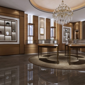 Jewellery Shop Interior Designing in Surat