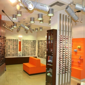 Optical Showroom Designing in Indore