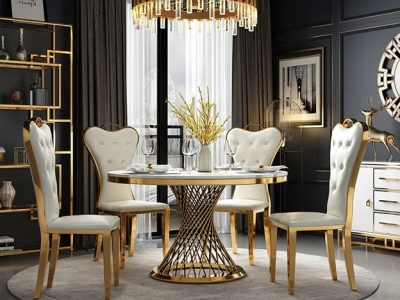 Round Dining Table Manufacturers in Uttar Pradesh