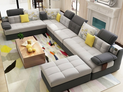 U Shaped Sofa Set Manufacturers in Hyderabad