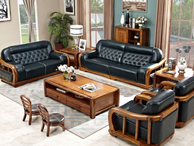 Wooden Sofa Set Manufacturers in Ahmedabad