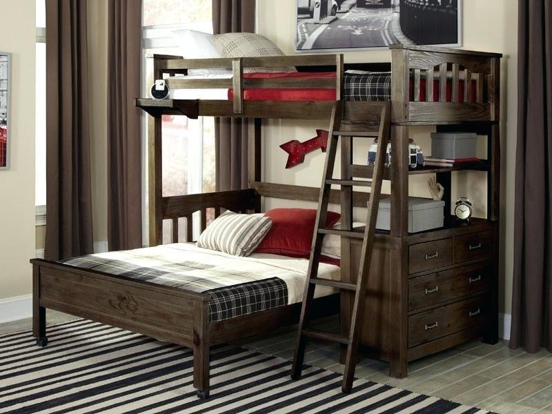 Espresso Loft Bed
