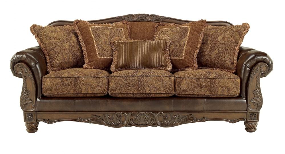 Antique Tradational Touch Sofa Set