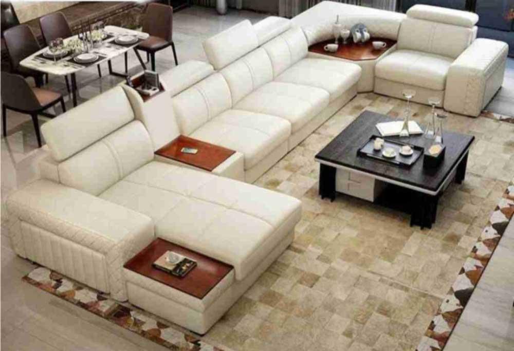 Luxury modern U Shape Sofa Set