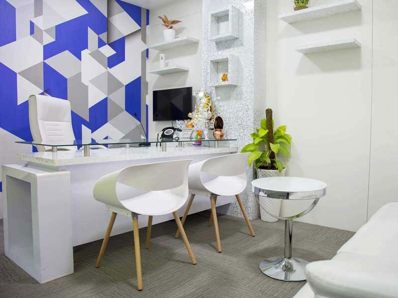 Corporate office desk