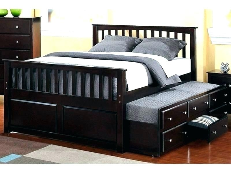 Trundle Bed Full Size With Twin King And Storage Daybed