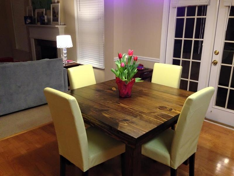 Hosting Guests Square Dining Table