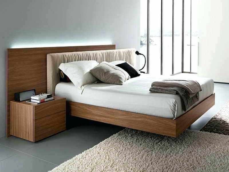 Low Floor Bed Design With Storage Platform