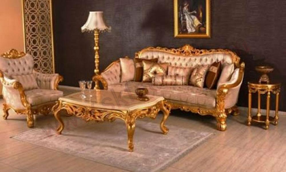 Royal Wooden Sofa Set