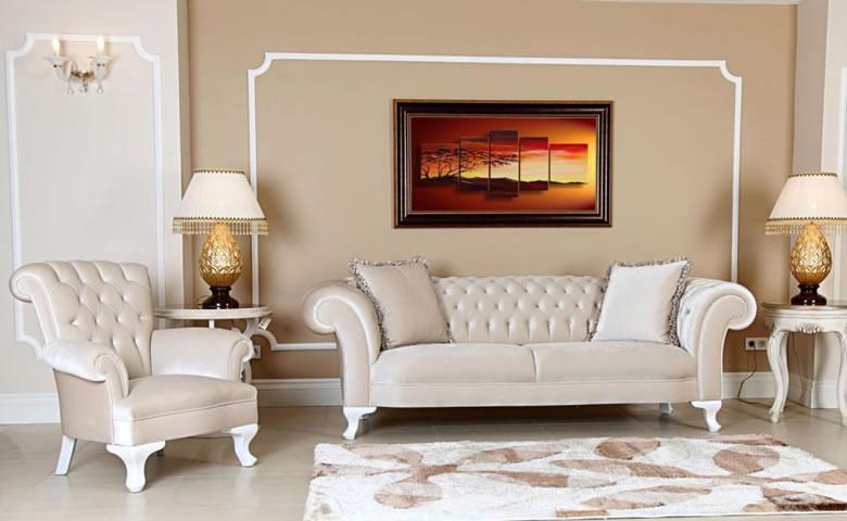 Luxury sofa set L shape sofa set