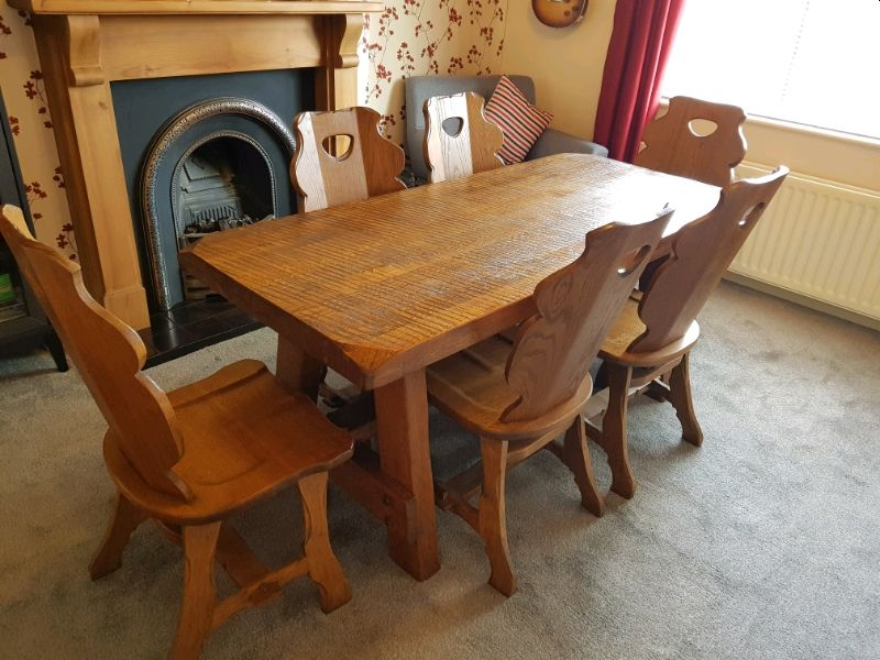 Simple Solid Wood Dining Table