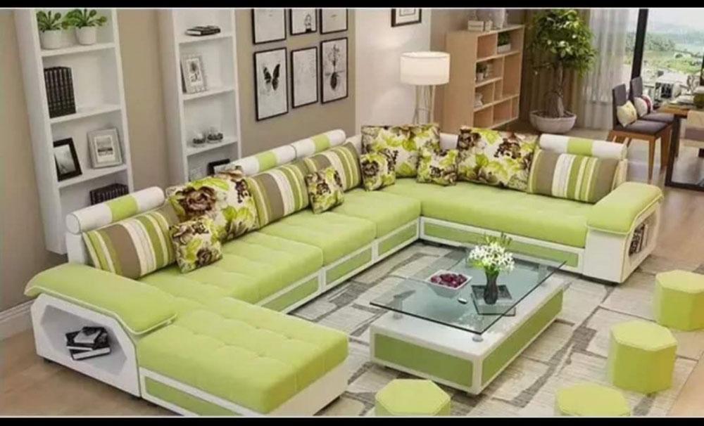 U shape  designer sofa set