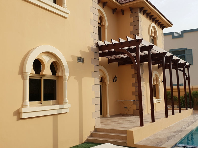 Exterior house painting services