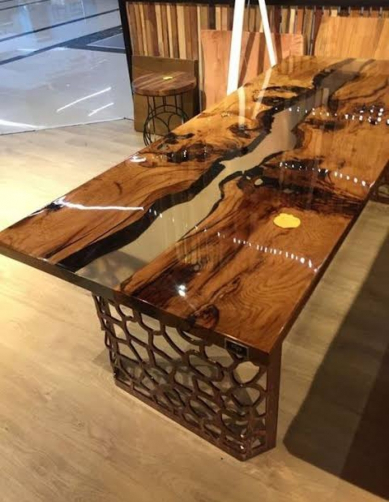 Epoxy Dining Table best design