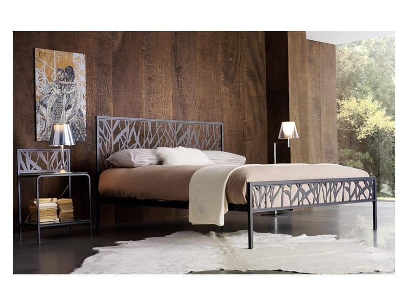 Metal Double Bed