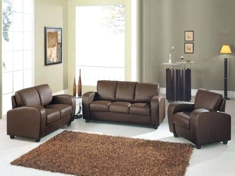 Light Brown Leather Sofa