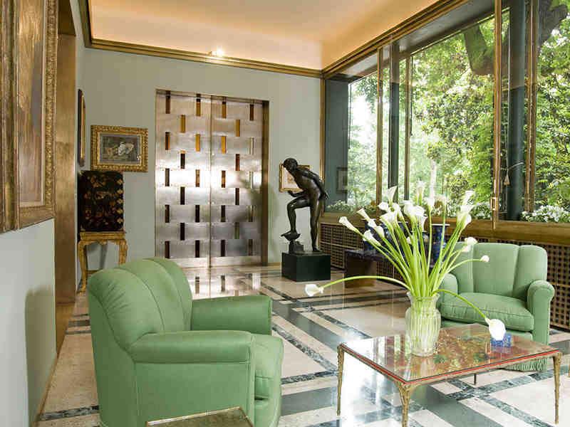 Italian interior style villa