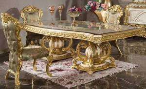 Luxury dining table 6 seater
