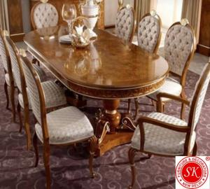 Luxury oval  dieting Table Set Manufacturers in Delhi