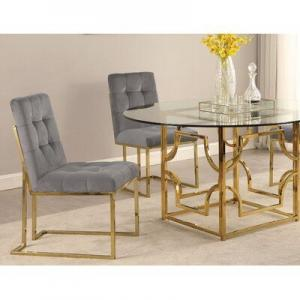 Metal glass dining table Manufacturers in Delhi