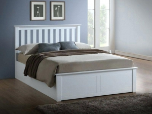 Double Bed Frame Wooden