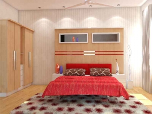 Beautiful master bedroom interior design in Delhi