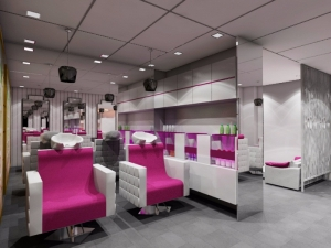 salon interior design Manufacturers in Delhi