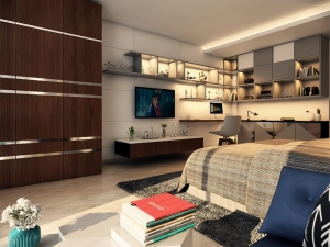 Modern Bedroom Design in Delhi