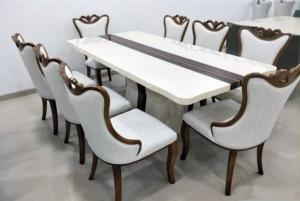 Modern dining table 8 seater Manufacturers in Delhi