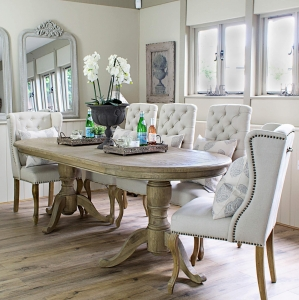 Belmont Oval Dining Table