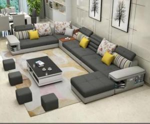 Fabric sofa set for living room