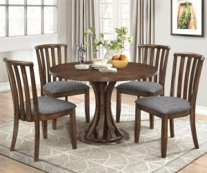 Stylish Round wooden dining table Manufacturers in Delhi