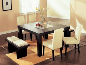 Decorate a Small Square Dining Table