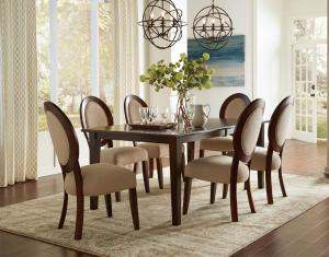 Designer wooden dining table new design