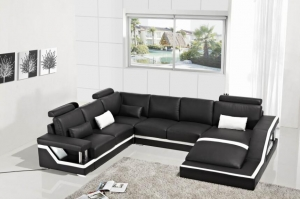 European Style U Shape High Quality Sofa Set Furniture