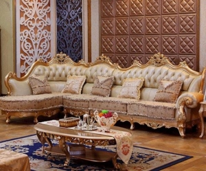 Wooden Carved Royal Sofa Set Classic
