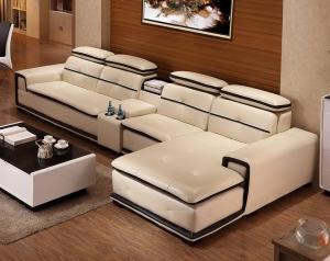 Cream Sofa set modern and Stylish design Manufacturers in Delhi