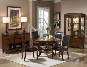 Round  Wooden Dining Table new design