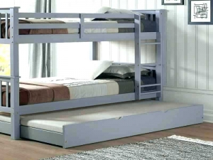 White Wood Trundle Bed in Delhi