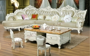 Latest Modern Design Sofa Large Genuine Leather modern Sofa set living room furniture Sofa
