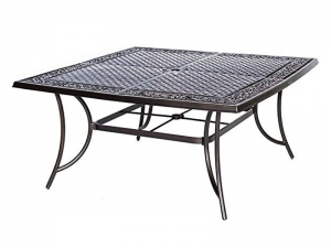 Hanover TRADDN9PCSWSQ8 Traditions 9Piece Rust-Free Aluminum Patio Dining Set