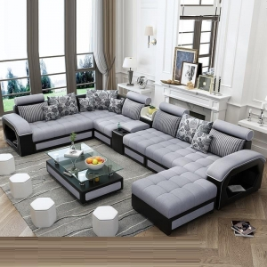 L shape sofa set Manufacturers in Delhi