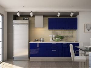 Lira Straight Modular Kitchen Manufacturers in Delhi