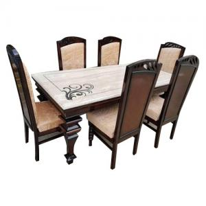 Marble Dining Table Set B5811