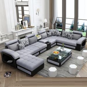 Stylish sofa set 9 seater