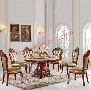 Round Modern Dining table Manufacturers in Delhi