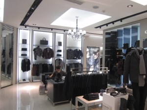 Showroom Interior Design Garment