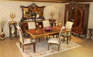 6 seatar luxury Dining Room Table Manufacturers in Delhi