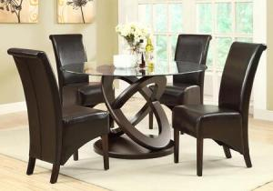 Stylish modern round dining table Manufacturers in Delhi
