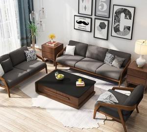 Teak wood luxury 7 seater sofa Set
